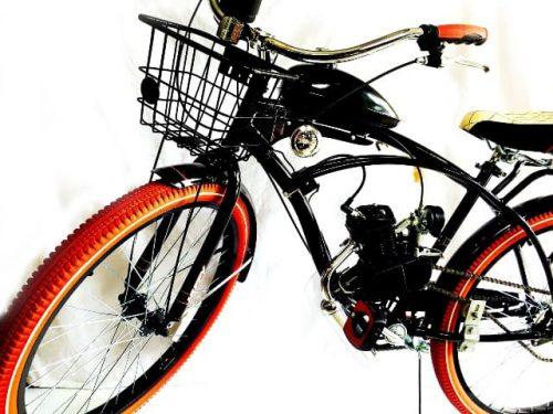 White Widow Motorized Bike Kit | Bicycle Motor Works