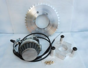 bicycle motor works - carbo combo 40