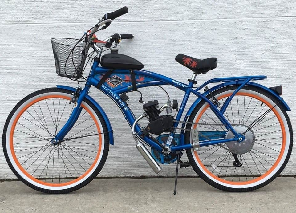 Margaritaville Motorized Bike Kit Bicycle Motor Works