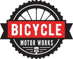 Bicycle Motor Works Retina Logo