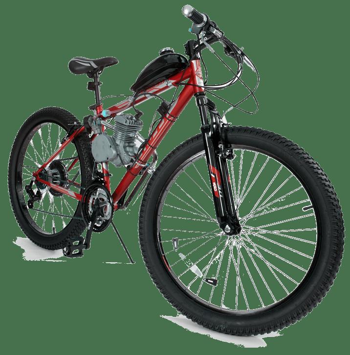 Motor Bike Red