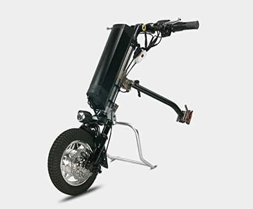 Electric wheelchair attachment